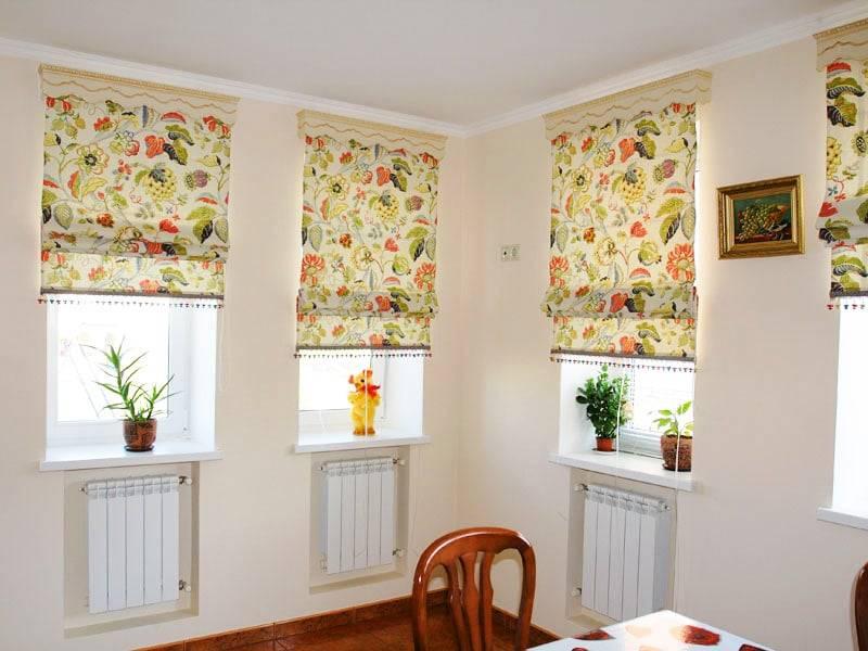 Выбираем шторы на лоджию или делаем их своими руками