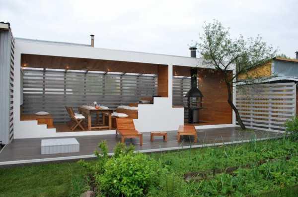 Проект одноэтажного дома с террасой: современные идеи и дизайнерские решения