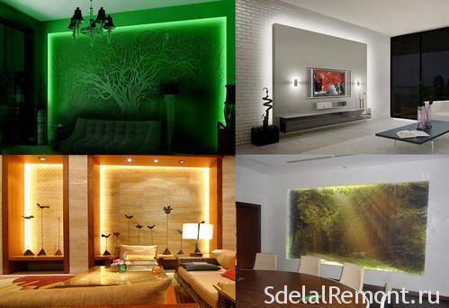 Применение светодиодной ленты - 7 необычных и практичных идей.
