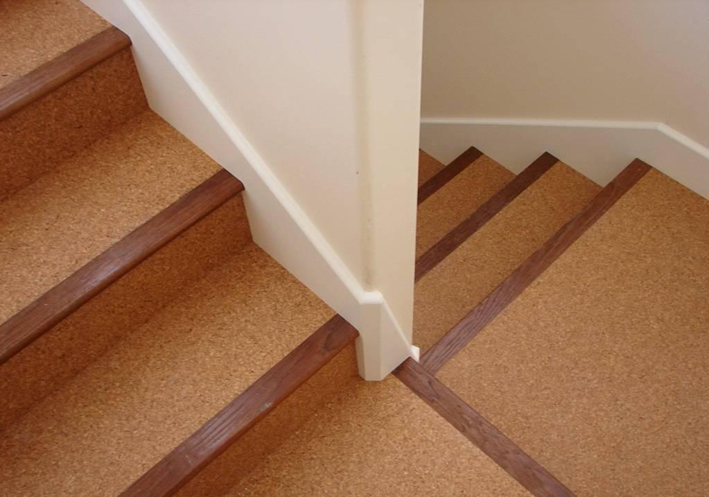 Отделка лестницы из бетона – выбираем подходящий материал