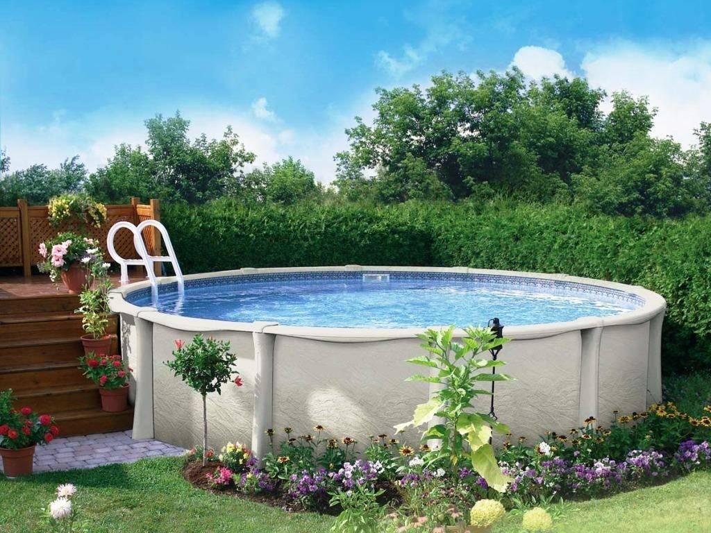 Как недорого сделать бассейн на даче своими руками