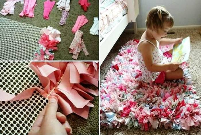 Коврики своими руками: необычные идеи пошива и дизайна. варианты применения ковриков (150 фото)
