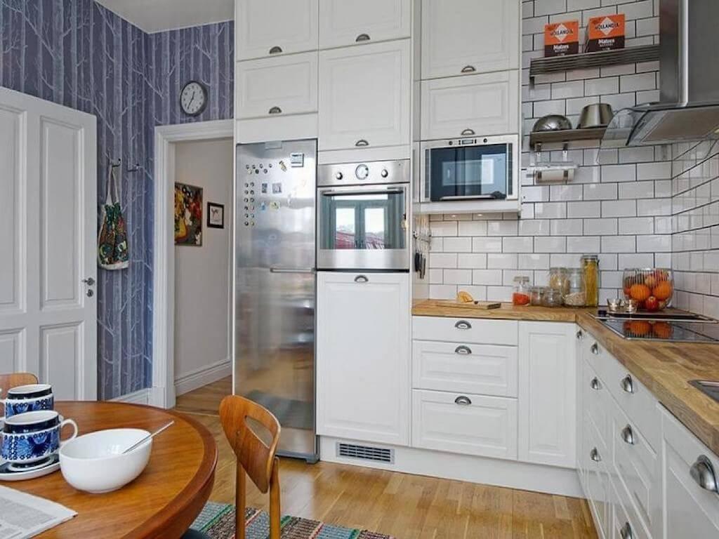 Милые шведы — 10 идей декора для кухни в скандинавском стиле: Практичность, строгость и функциональность - Обзор