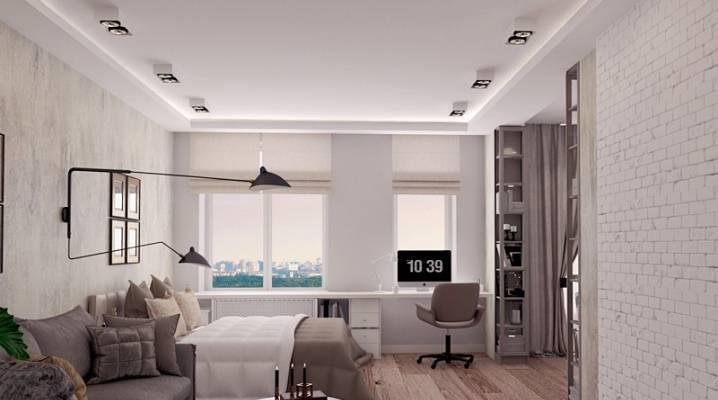 Дизайн однокомнатной квартиры 30м2. основные принципы