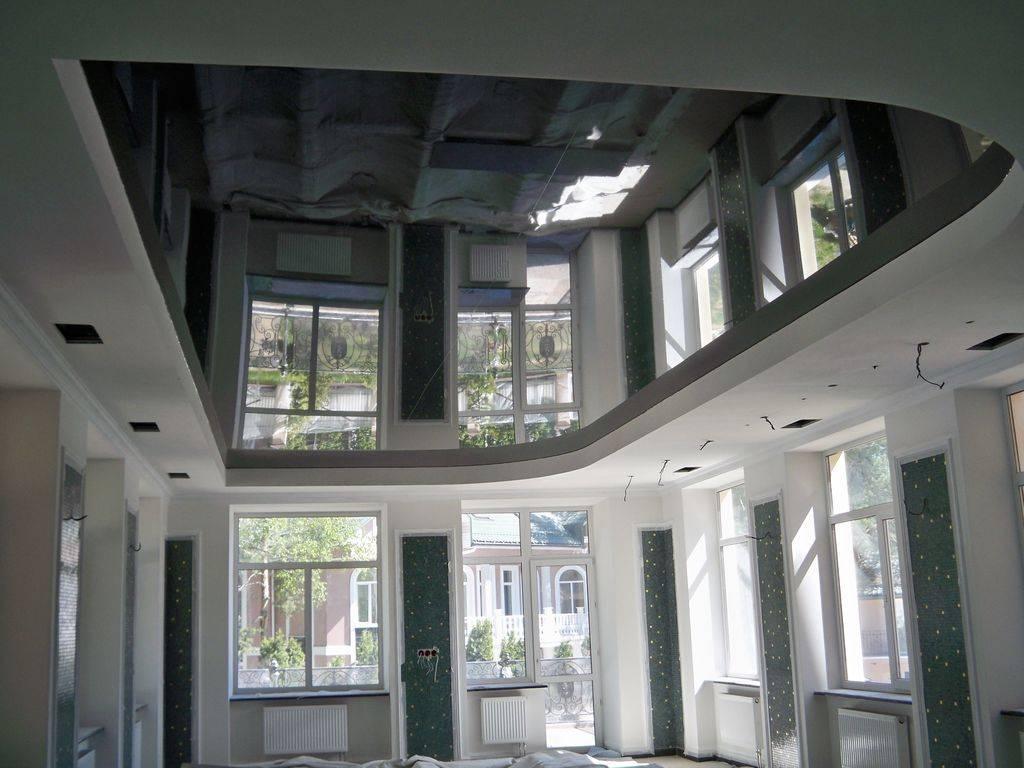 Натяжные потолки в прихожей — дизайн, цвет двухуровневых глянцевых и матовых потолков в коридоре, натяжной потолок в маленькой и длинной прихожей с подсветкой