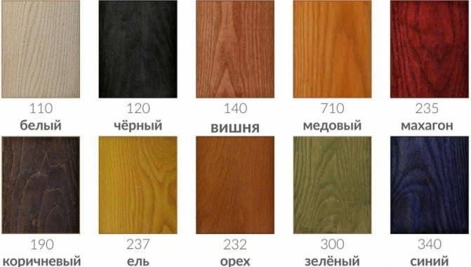Морилка для дерева разновидности составов и особенности применения