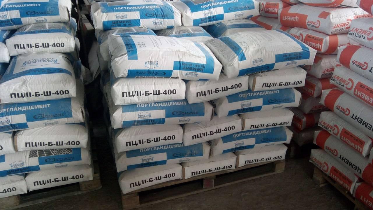 Цемент м400: технические характеристики и плотность насыпной продукции м-400 в мешках, цемент д20 «пц», вес марки на 1 м3