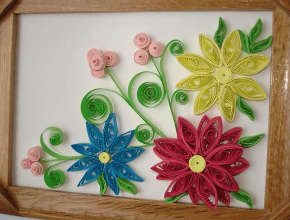 Букеты цветов в технике квиллинг фото подборка работ