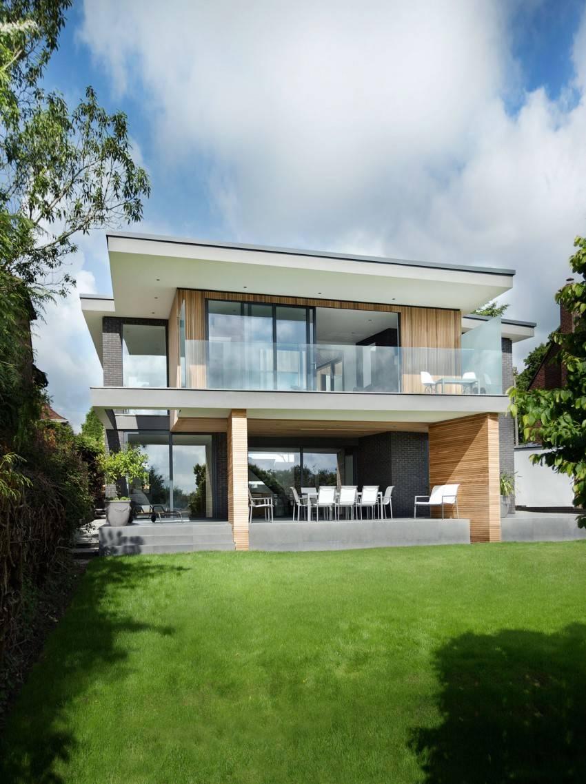 Дом с внутренним двором [20+ фото] как интегрировать проект дома с внутренним двором с ландшафтом