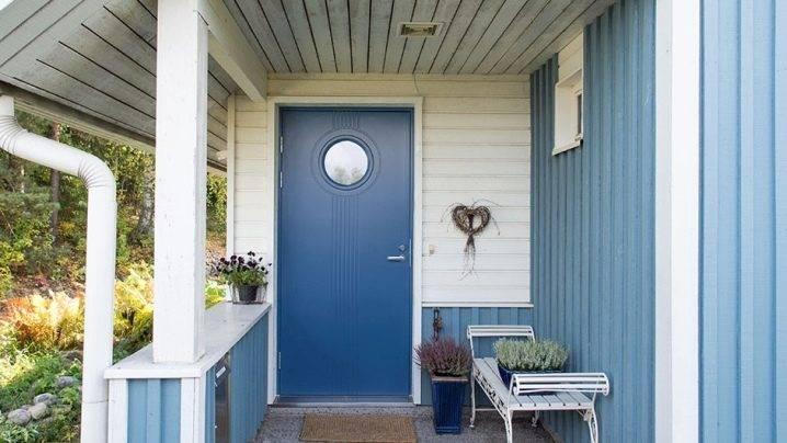 Финские входные двери — особенности конструкции