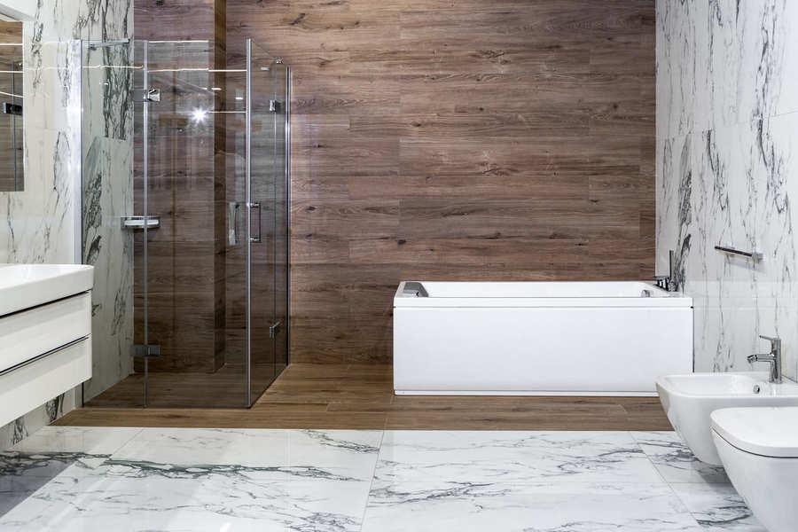 Дизайн ванной комнаты 9 кв. м (54 фото): идеи обустройства и выбор стиля