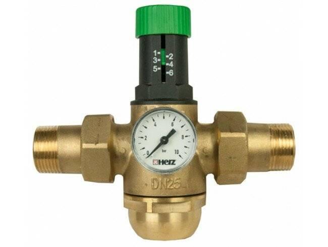 Регулятор давления воды в системе водоснабжения в квартире