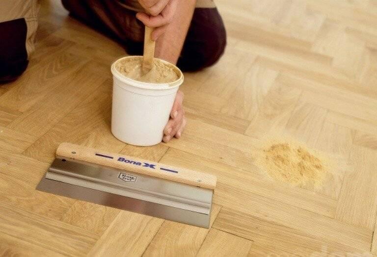 Ремонт ламината: сколы и трещины удаляем самостоятельно