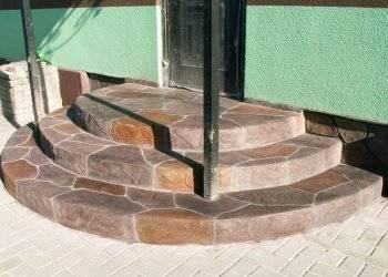 Укладка тротуарной плитки на бетонное основание - описание технологии