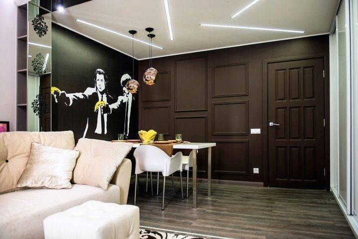 Схема освещения квартиры