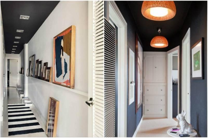 Натяжной потолок в прихожей (80 фото) — идеи дизайна