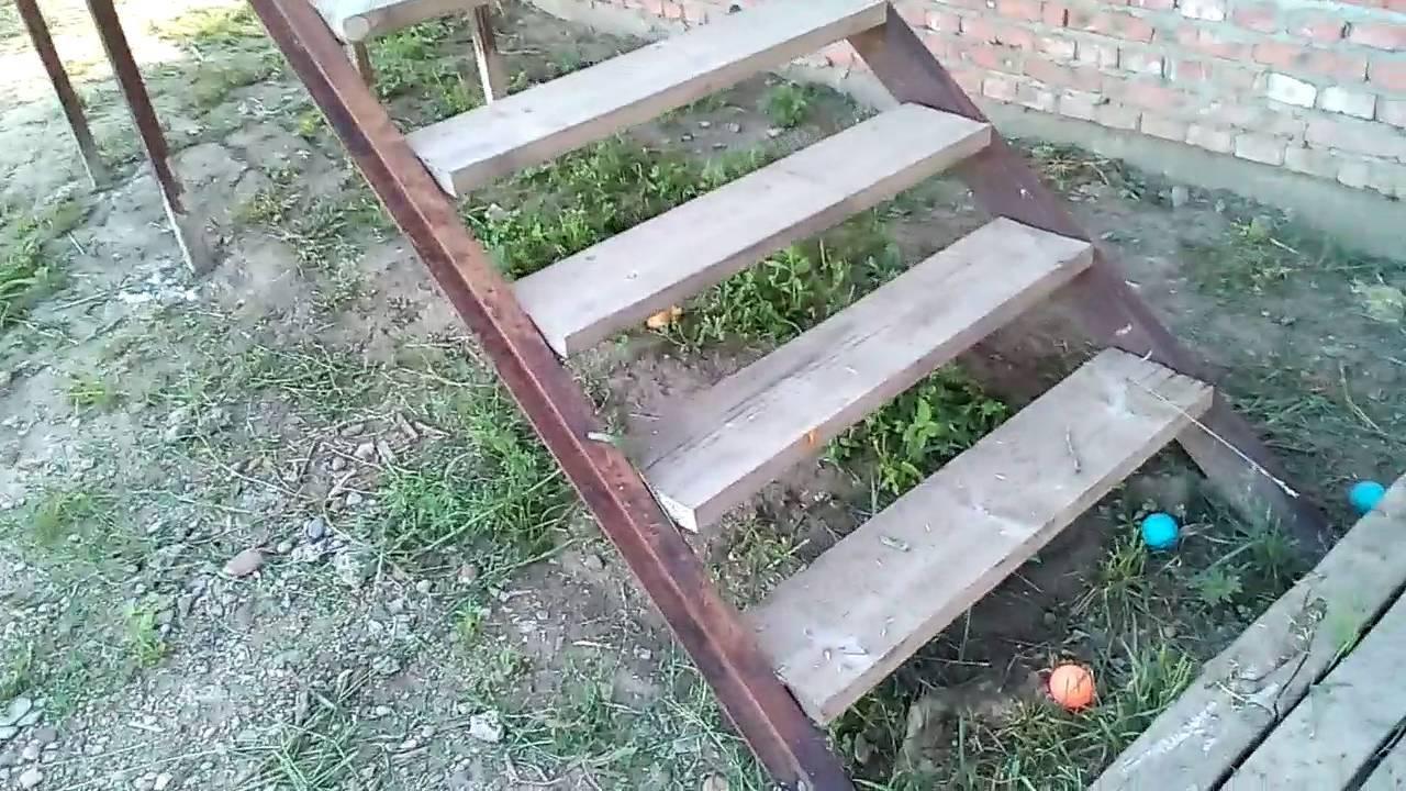 Деревянная лестница на второй этаж своими руками: фото + видео