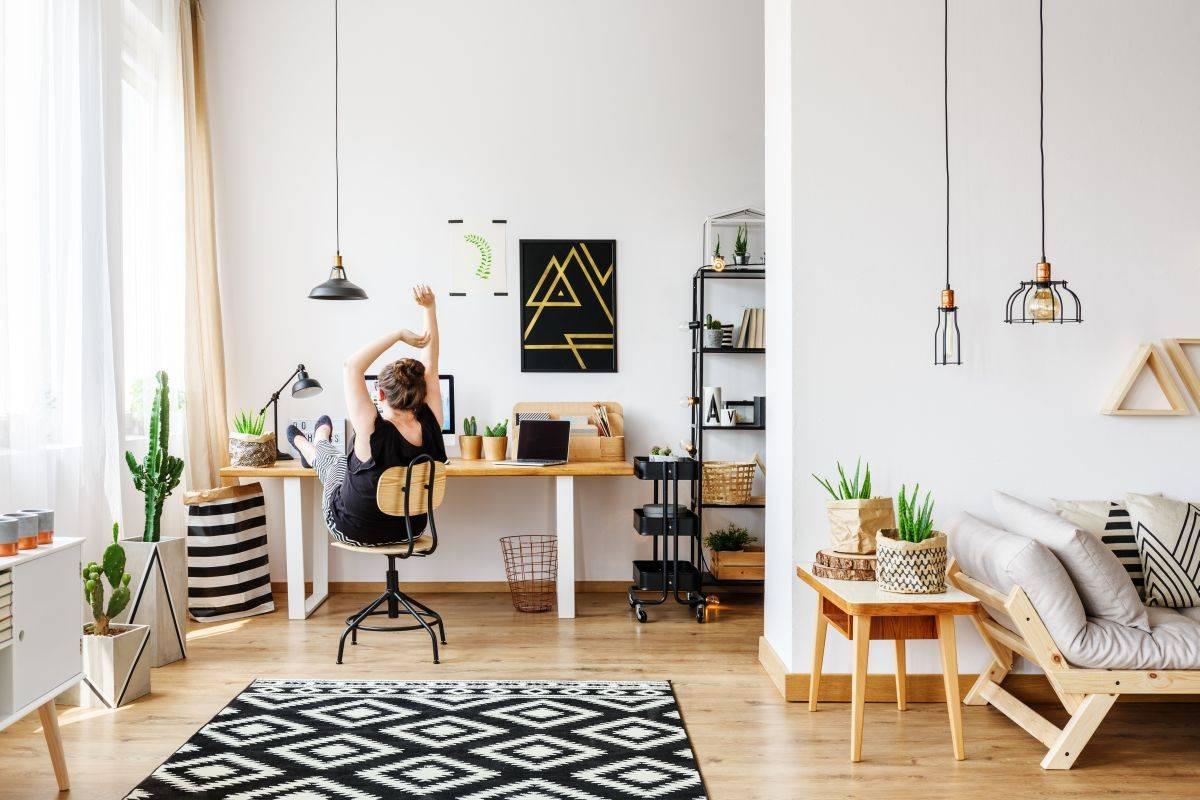Дизайн интерьера кабинета руководителя в москве, фото рабочего кабинета в офисе от студии «офисные интерьеры»