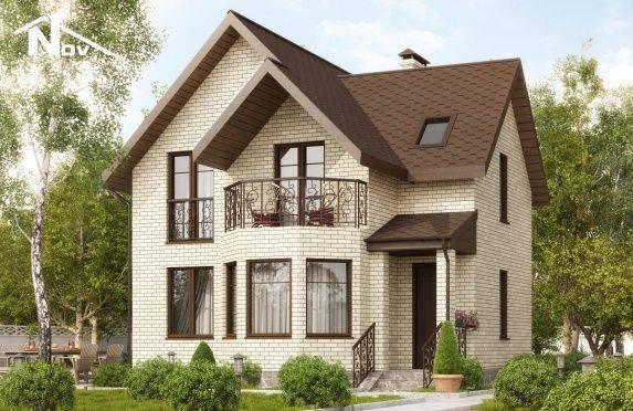 Красивые фасады одноэтажных домов: 50 фото идей