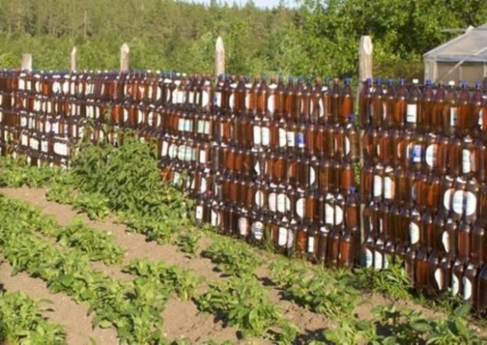 Заборчик для клумбы своими руками - всё о воротах и заборе