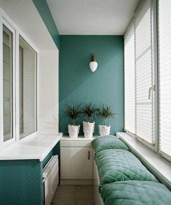 Интерьер балкона 2017: идеи дизайна