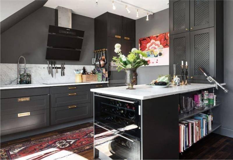 Ковры в интерьере кухни, плюсы и минусы, параметры выбора элемента декора