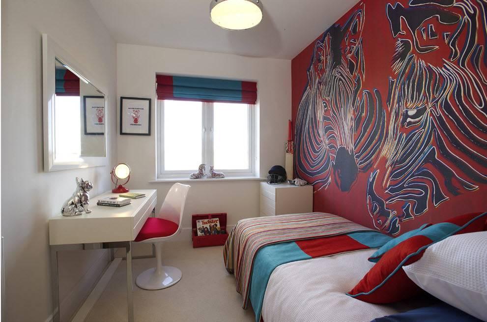Акцентная стена в спальне, или 45 способов избавиться от скуки в интерьере и не превратить комнату в безвкусицу