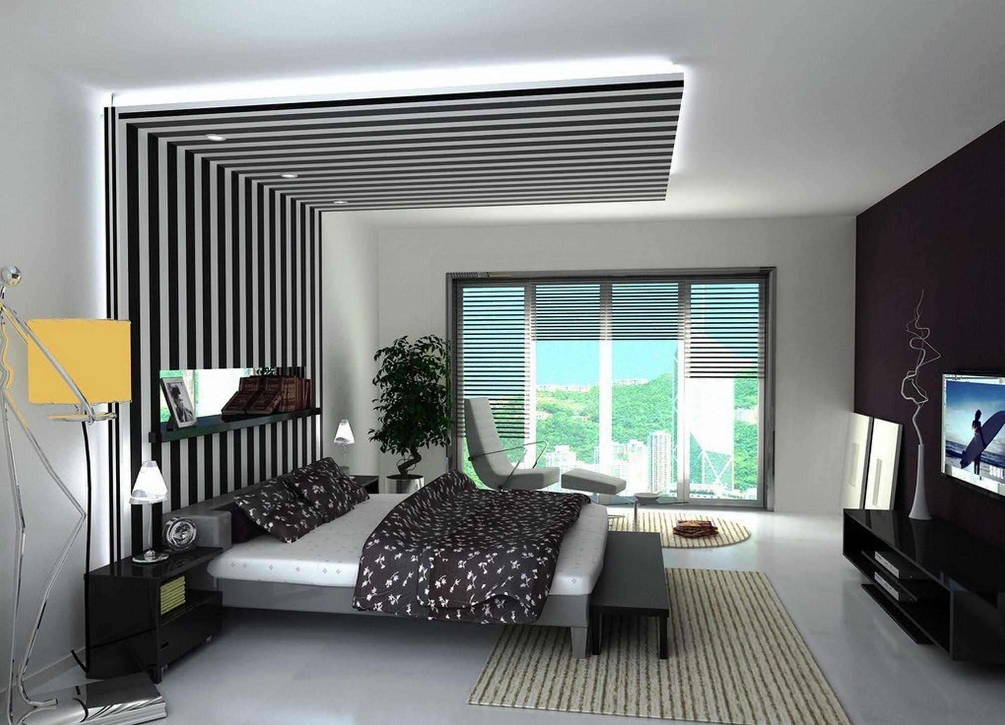 Как визуально увеличить высоту потолка в маленькой комнате