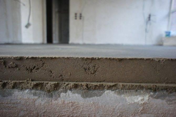 Минимальная толщина стяжки пола: какой должна быть толщина основания под теплый электрический пол по пеноплексу в квартире