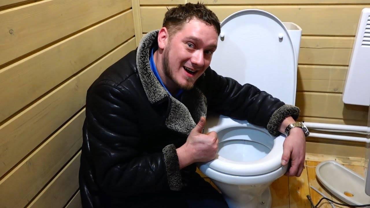 Дачный туалет: устройство, пошаговая инструкция | фото