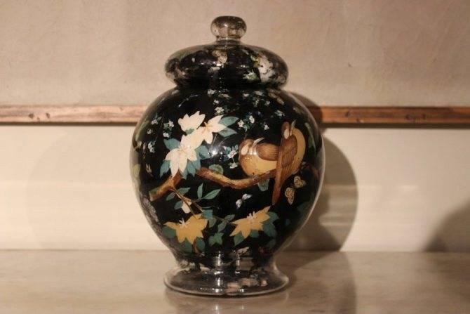 Декор вазы своими руками (39 фото): как украсить напольную вазу для цветов сухими ветками и ракушками в домашних условиях