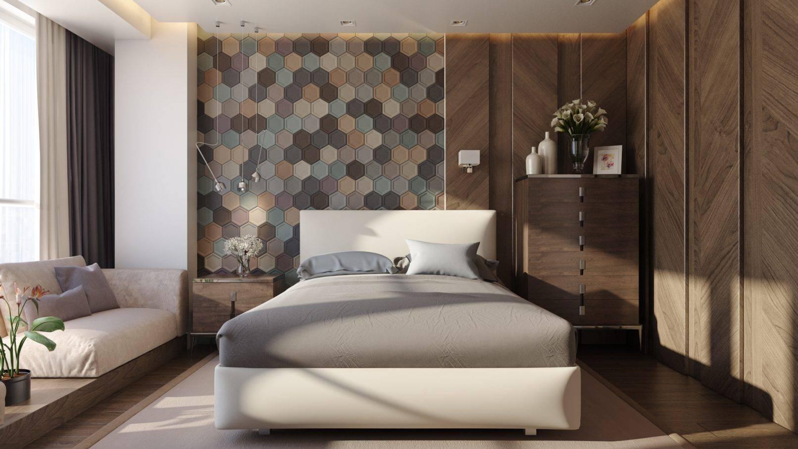 Стены в спальне: варианты выбора цвета и отделки. 130 фото акцентные и фоновые стены в дизайне