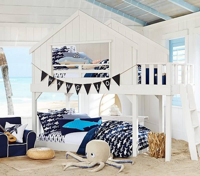 Кровать чердак для подростка — 100 крутых идей