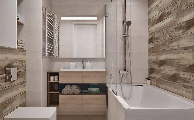 Пластиковые панели для ванной, интересные варианты