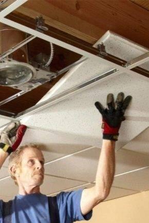 Потолок из пластиковых панелей: как сделать и установить своими руками, каким образом выбрать и обшить каркас, как и чем к нему крепить пвх?