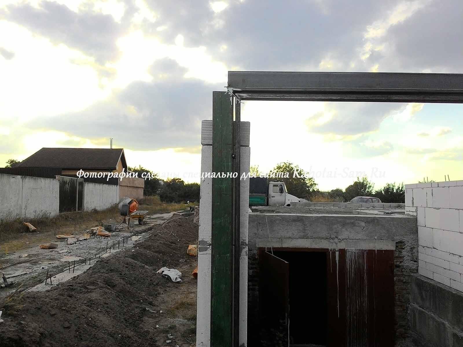 Распашные ворота с электроприводом: тюнингуем участок своими руками