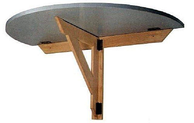 Как самому на балконе сделать откидной столик?