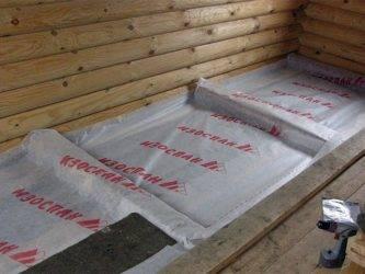 Пароизоляция пола в деревянном доме: разновидности, технология монтажа, материалы, пошаговая инструкция