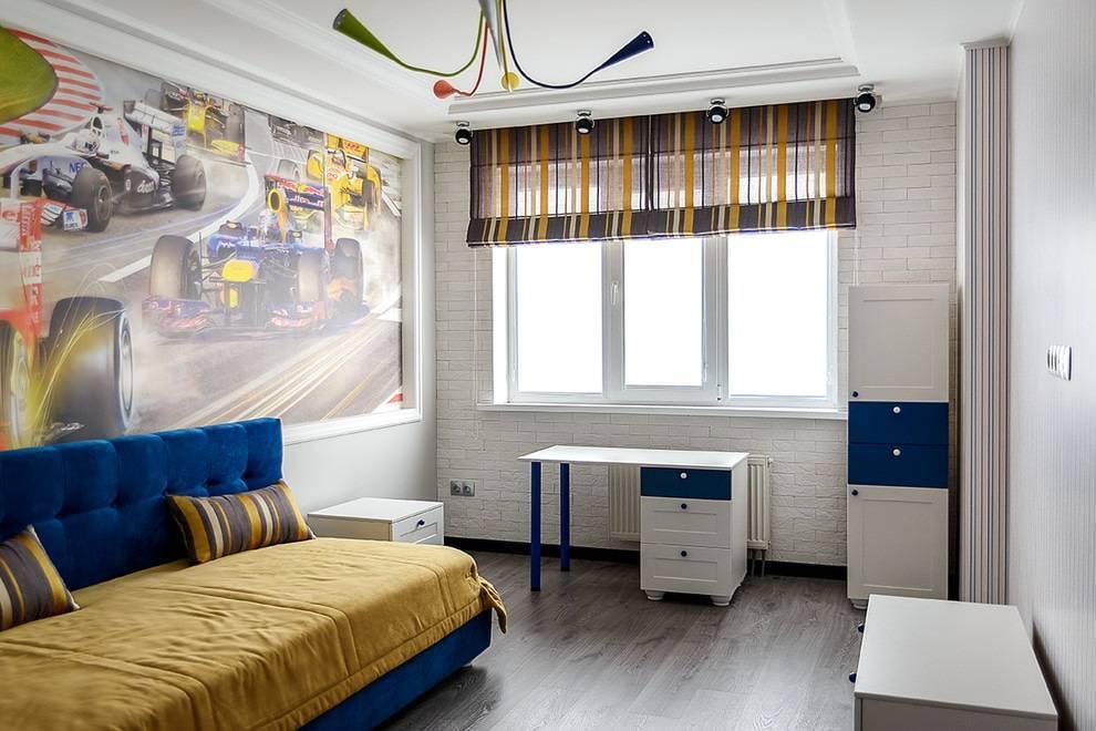 Дизайн интерьера детской комнаты для мальчика - 95 фото