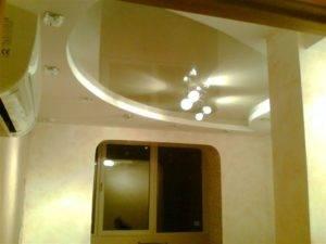 Конструкция и монтаж двухуровневых потолков: описываем суть