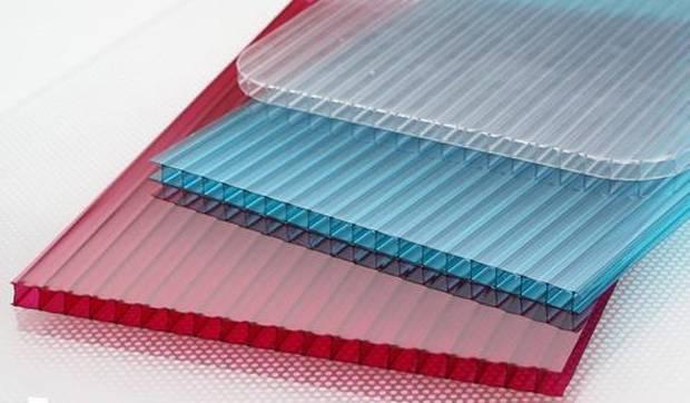 Какие бывают размеры листа поликарбоната, выбор материала, монтаж
