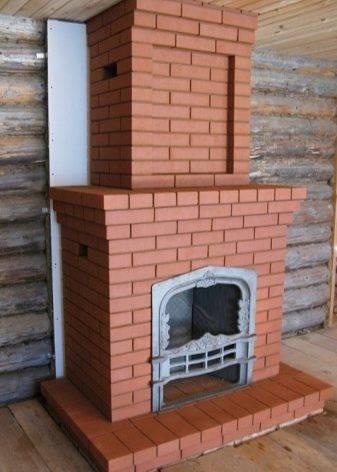 Облицовка печей и каминов: плитка и кирпич, искусственный камень и термостойкий клей
