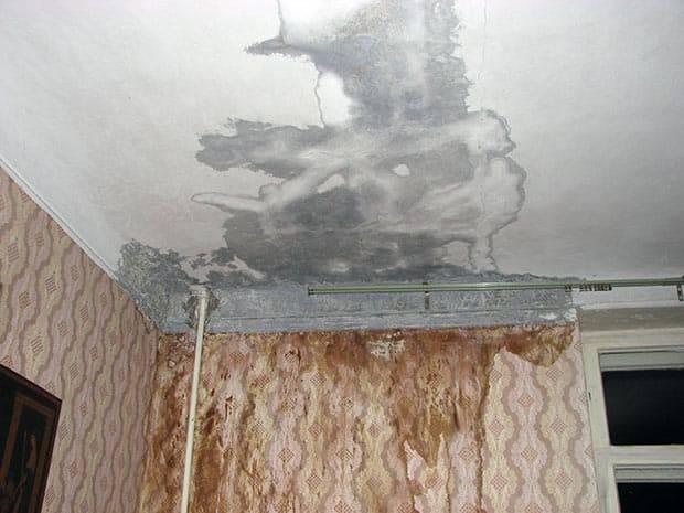 Течет крыша в многоквартирном доме – куда обращаться, и кто возместит ущерб от залива жилья