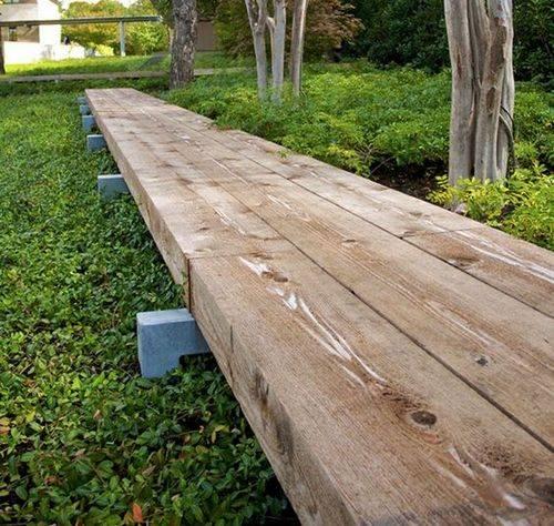 Как можно легко и бюджетно построить деревянные дорожки на даче своими руками:материалы и план работ
