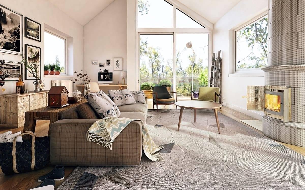 Современные гостиные: 24 стильных решения в пастельных тонах от опытных дизайнеров.