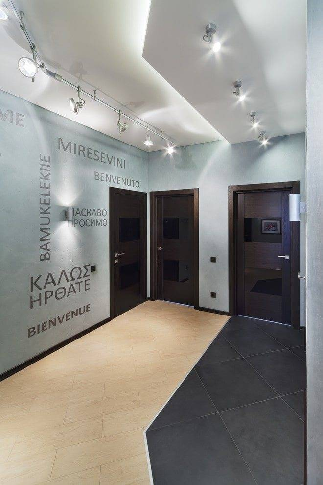 Использование как элемента дизайна и в качестве основного освещения светящегося потолка