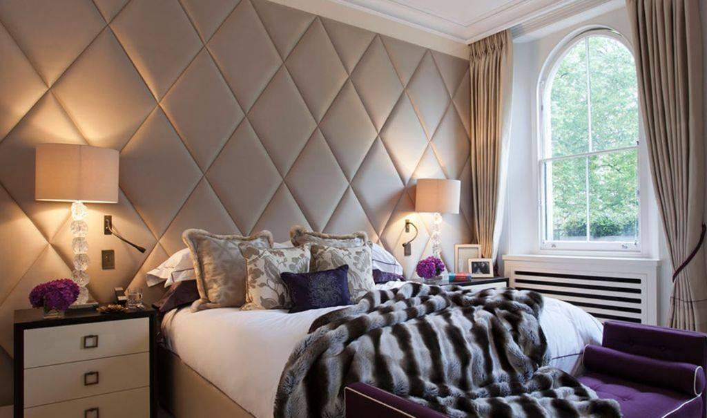 Мягкие стеновые панели для спальни - wallpanels.ru