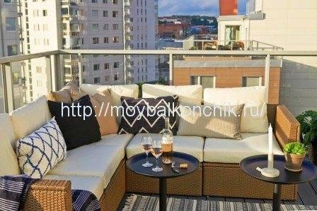 Балкон в стиле прованс: советы по оформлению и отделки с фото дизайном
