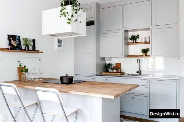 Кухни в скандинавском стиле: как правильно сочетать детали?