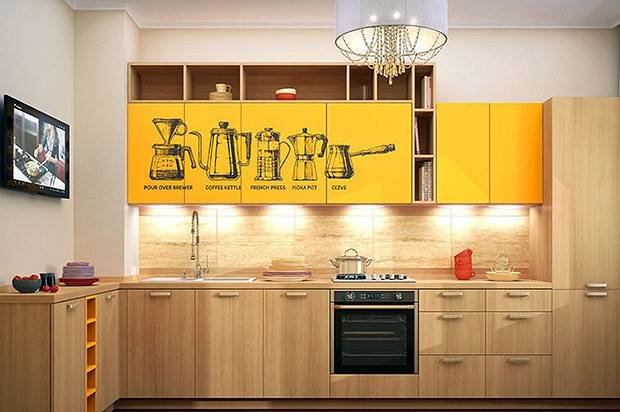 Кухня, которую легко содержать в чистоте и порядке